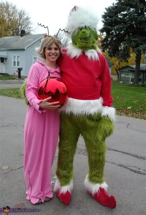diy grinch and lou who so the grinch and lou who costume lou dr who and grinch