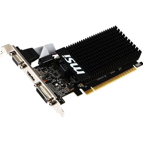 Vga Nvidia Geforce Inno3d Gt710 2gb Dd3 1 msi geforce gt 710 low profile graphics card gt 710 1gd3h