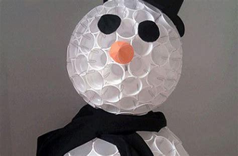 arbol de navidad de vasos de plástico mu 241 eco de nieve con vasos de pl 225 stico