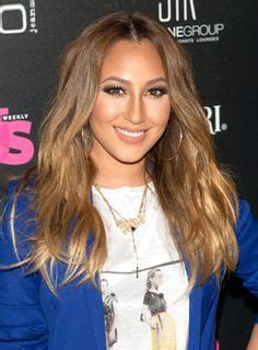 adrienne bailon hair color colour dye ombre hair on 30 pins