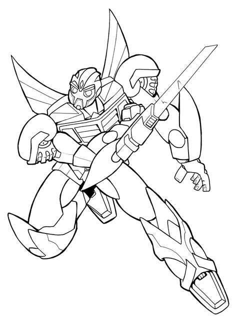 bumblebee transformer free colouring pages