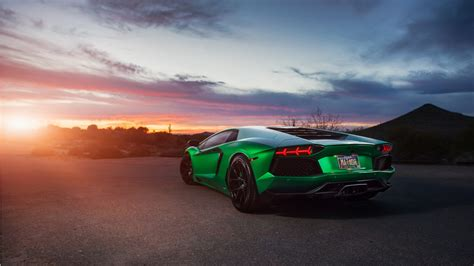 lamborghini car wallpaper lamborghini aventador green 4k wallpaper hd car