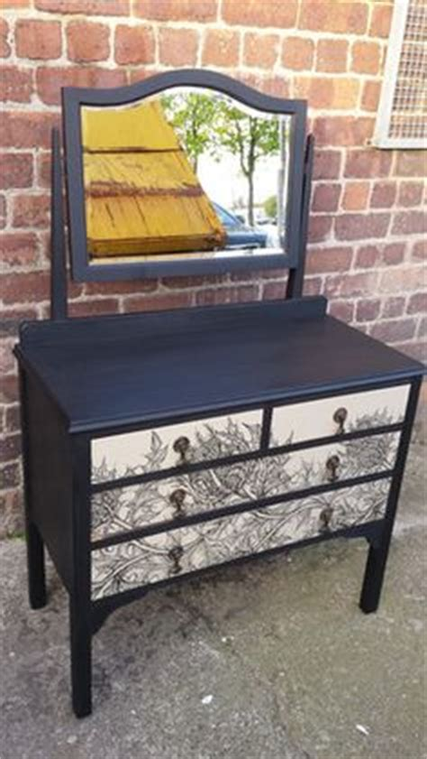 Upcycled Vanity Table Upcycled 1960s Vintage Comic Decoupage Dressing Table Dresser Draws Side Board