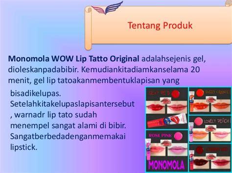 Monomola Lip Tato Pewarna Pemerah Bibir Tahan Lama monomola pemerah bibir alami pemerah bibir permanen tato murah