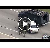 Video Texas Car Chase Ends In Crash With SWAT Vehicle