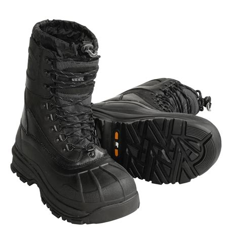 Kickers Ring Safety Toes Black sorel conquest boots for 18828