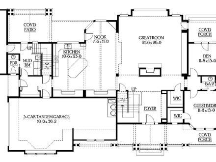 craftsman open floor plans rustic craftsman floor plans rustic contemporary house