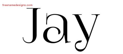 tattoo name jay vintage name tattoo designs jay free download free name
