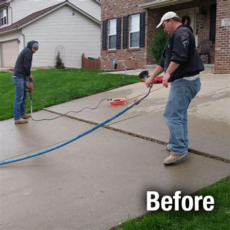 concrete driveway repair driveway leveling and