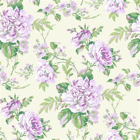 Flower Motif Pattern By Yukiko Kuro | new grandeco royal house bouquet floral leaf pattern