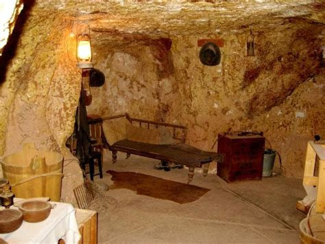 australians live in caves called dugouts in coober pedy south australia