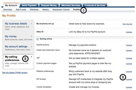 Search Paypal How To Get Paypal Api Username Password And Signature