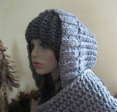 knitting pattern for scarf with hood and pockets hooded scarf new 154 hooded scarf with pockets knitting