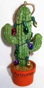 saguaro cactus christmas ornament