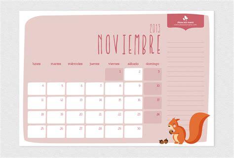Calendario Noviembre 2014 Calendario Noviembre 2014 Para Imprimir Calendario 5
