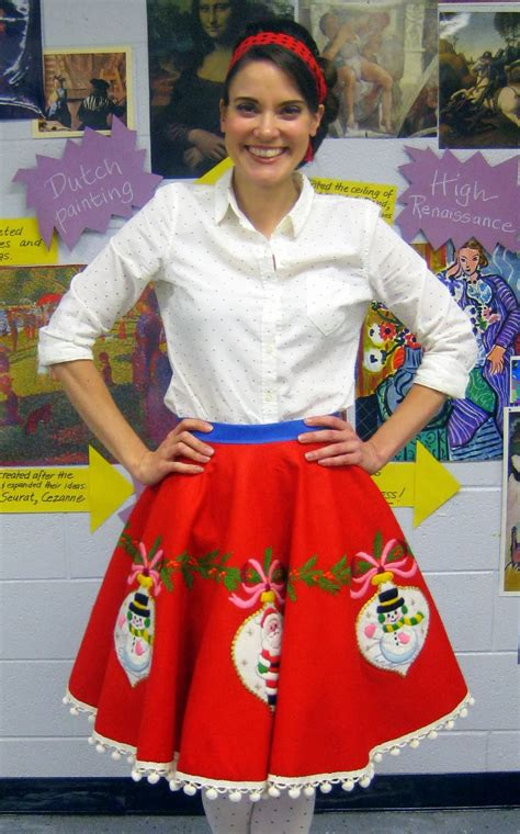 cassie stephens diy tree skirt to lady skirt in 60