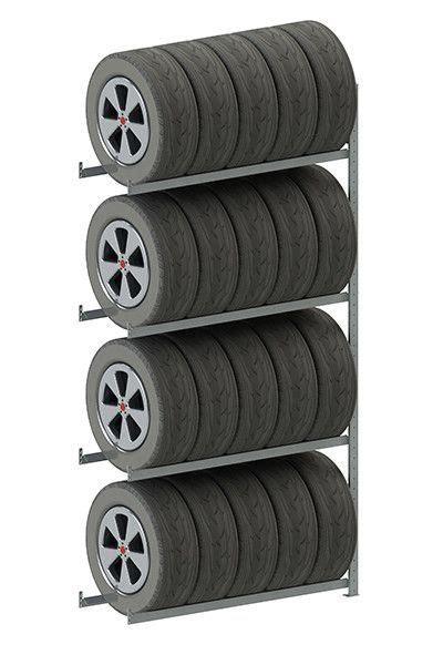 clip s3 tire storage 4 shelf shelving unit set of