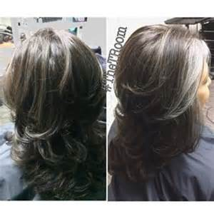 transitioning to gray hair with lowlights 1000 ideas about grey hair styles on pinterest gray