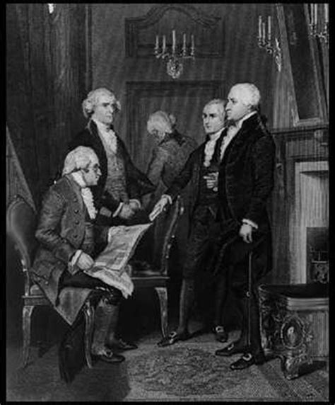 Washington S Cabinet by America Past And Present Washington S Cabinet