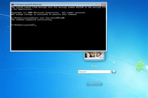 reset all printers windows 7 step by step guide to resetting a windows 7 password