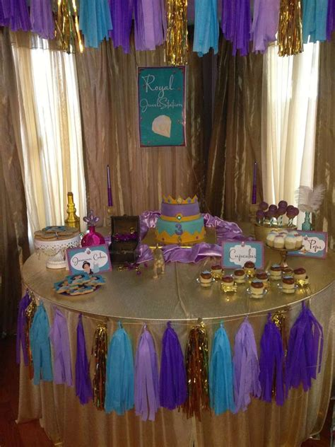 jasmine themed birthday party princess jasmine birthday party ideas photo 3 of 24