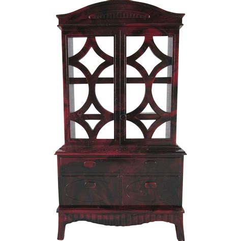 1 4 dollhouse furniture ideal 3 4 quot china cabinet dollhouse furniture from