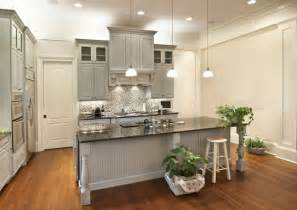 Gray Painted Kitchen Cabinets by Susie Harris Pondering With Paint