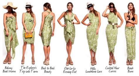 how to drape a sarong fash packing the sarong trip styler