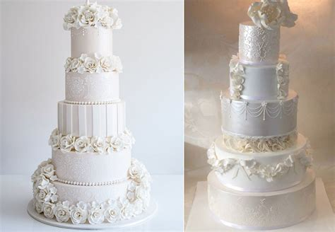 Formal Wedding Cakes by Floral Formal Wedding Cakes Cake Magazine