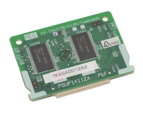 Card Expand Pabx Panasonic Kx Te82480 18 panasonic kx tda3105 mec memory expansion card for tda30 gst delivery included ebay