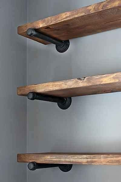 25 best ideas about rustic wall shelves on
