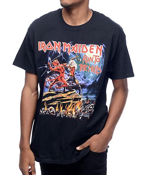 T Shirt Run Dc White iron maiden run to the black t shirt zumiez