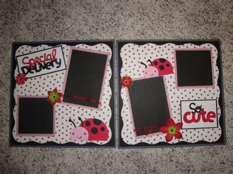 ladybug scrapbook layout 74 best scrapbook layouts girl images on pinterest