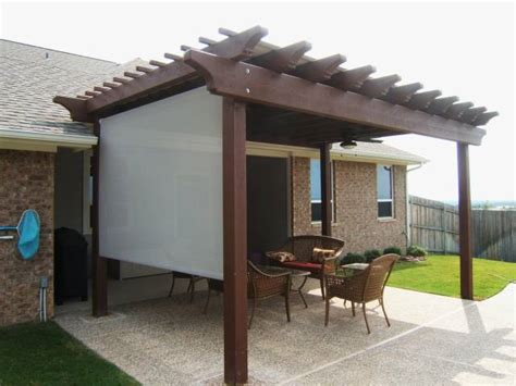 sun shade for pergola privacy and sun screens sepio weather shelters