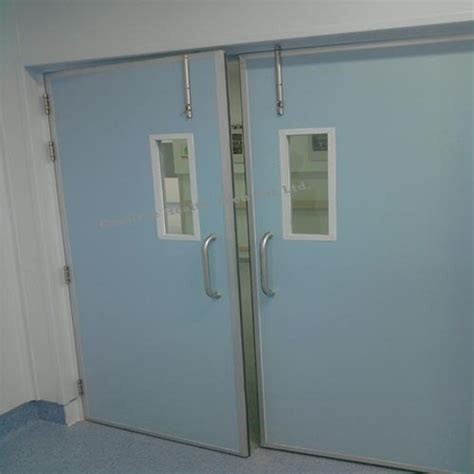 stainless steel hospital swing doors stainless steel hospital swing door at rs 85000 unit