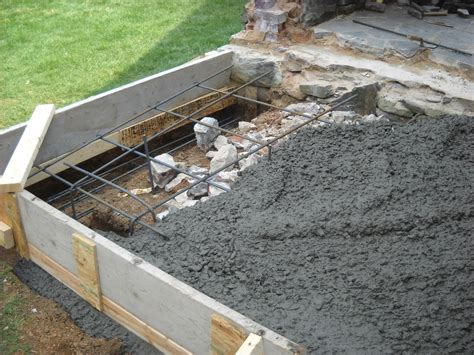 Foundation For Outdoor Fireplace by Stonedictionary Living Masonry