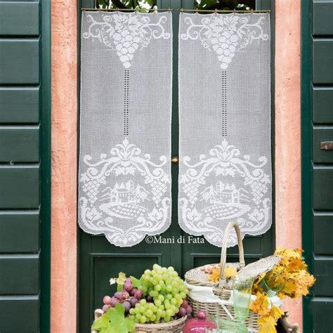 tende di cotone tende cotone e schema sposa uncinetto tende e schema