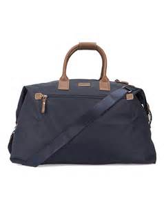 Aston Martin Bags Hackett Navy Aston Martin Weekend Bag In Blue For Lyst