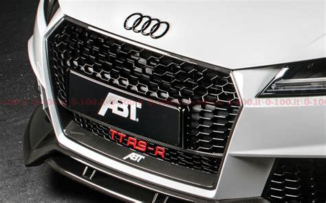 Audi Tt 0 100 by Tuning Abt Tt Rs R 0 100 It