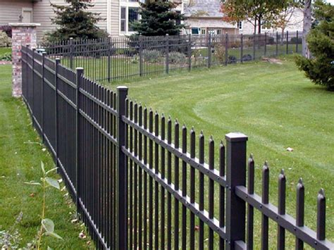 Decorative Metal Fence by Decorative Steel Fence Ilovemyfence