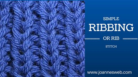 how to knit ribbing on circular needles knitting ribbing or rib stitch doovi