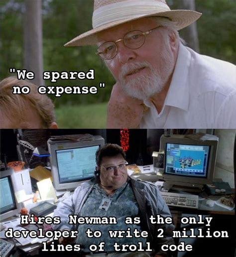 Jurassic Park Birthday Meme - scumbag john hammond weknowmemes