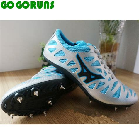 Sepatu Boots Spiky ultralight race sprint dash spikes track field running shoes trainers sport breathable
