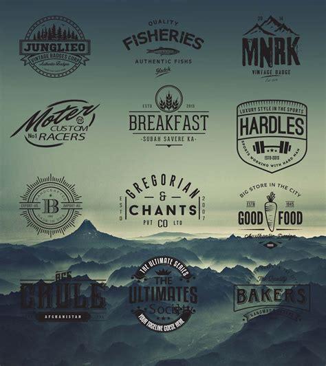 design hipster font retro logo and badges cafe hipster vector free download