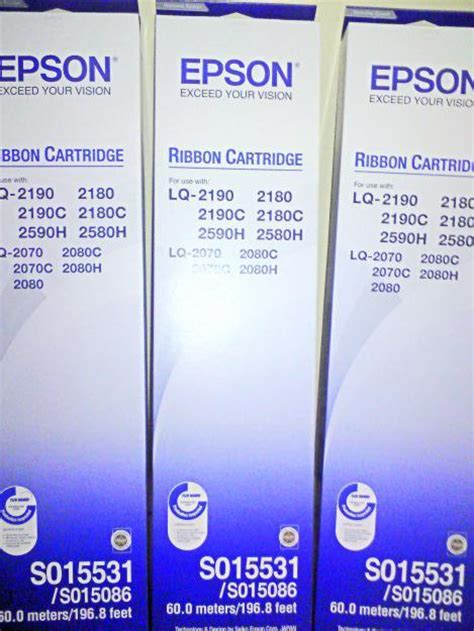 Tinta Epson Lq 2180 jual tinta printer pita epson lq 2180 harga murah bogor oleh toko teknika globalindo