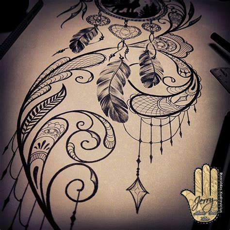 design for dream 9 best images about dream catcher tattoo design on