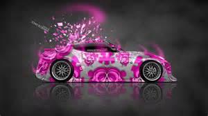 Pink Nissan 370z Nissan 370z Jdm Side Domo Kun Car 2014 El Tony