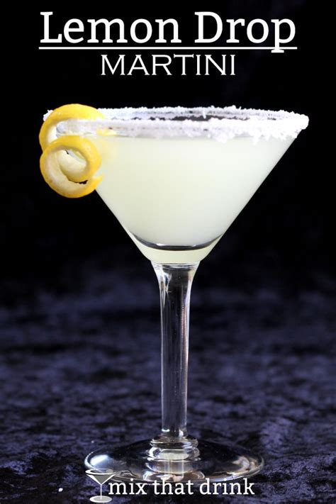 lemon drop martini mix that drink