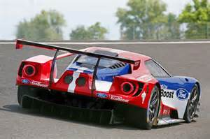 Gt Racing Four Ford Gt Race Cars Will Compete At Le Mans Autoevolution