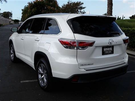 2015 Toyota Highlander Xle Review Toyota Highlander 2015 Xle Reviews Prices Ratings With